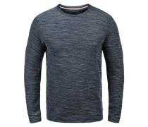Sweatshirt 'Pantaleon' blau / naturweiß