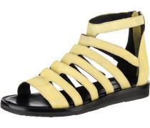 Sandalen pastellgelb