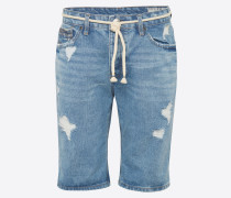 Shorts 'dnm Stichmidblue' blue denim