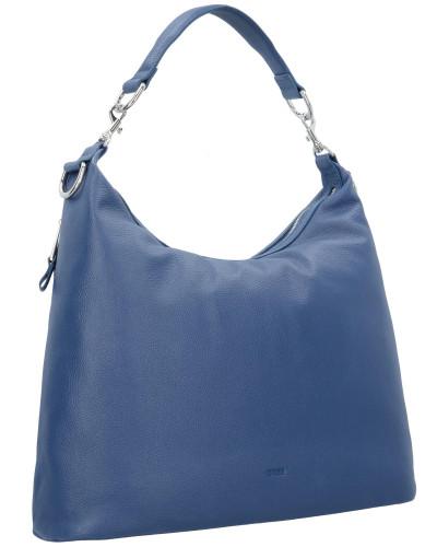 Manchester Großen Verkauf Verkauf Online BREE Damen 'Brigitte 6' Schultertasche Leder 43 cm blau Empfehlen Online Spielraum Manchester LYVClffCe