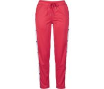 Track Pants rot / schwarz / weiß