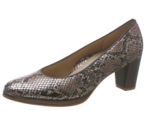Pumps 'Orly' taupe / silber