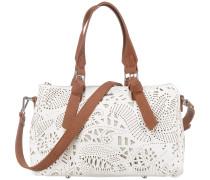 Handtasche 'Hades Ginebra' braun / weiß