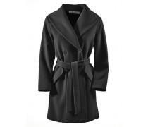Swinger Mantel schwarz