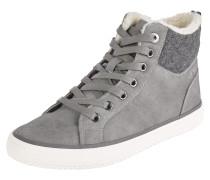 Sneaker mit Fütterung grau