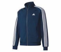 Sweatjacke 'essential 3 Stripes Track Jacket Tricot'