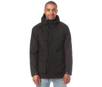 Renton Winter Funktionsjacke schwarz