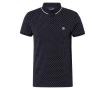 Poloshirt nachtblau / weiß