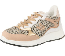 Sneakers 'Asia 06' gold / pfirsich / weiß