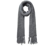 Langer Schal dunkelgrau
