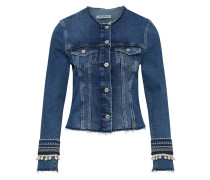 Jeansjacke 'petra' blue denim