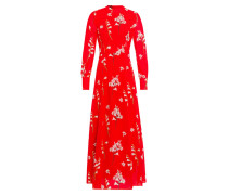Dress mischfarben / rot