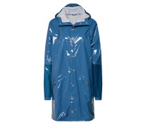 Regenjacke 'ltd Long Jacket' blau