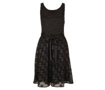 Kleid gold / schwarz