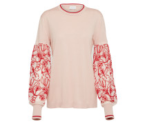 Pullover rosa / rot