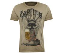 T-Shirt 'Shirt Wolperbua' sand