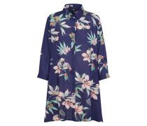 Shirt navy / pastellgrün / rosa