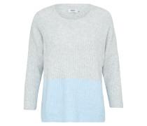 Pullover 'celia' blau / grau