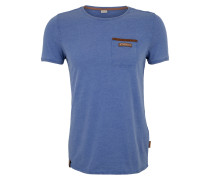 T-Shirt 'Suppenkasper' blau
