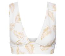 Bikinitop 'dos palmas plunge'