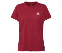 Shirt 'Star Chevron' himbeer