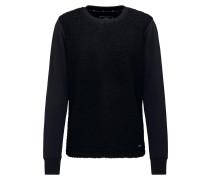Pullover nachtblau / schwarz