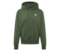 Sweatshirt 'club' dunkelgrün