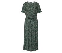 Kleid 'Rory' gelb / grün / schwarz