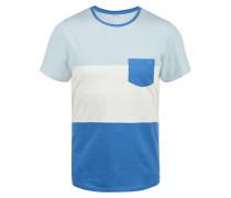 Rundhalsshirt 'Nemo' blau