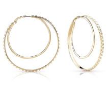 Ohrringe 'hoops' gold
