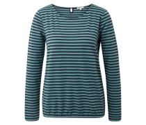Langarmshirt navy / mint