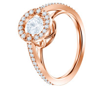 Ring 'Sparkling' rosegold / transparent