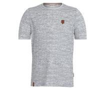 T-Shirt 'Hosenpuper' navy / graumeliert