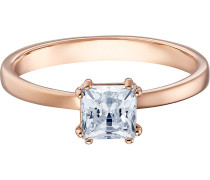 Ring 'Attract' rosegold / transparent