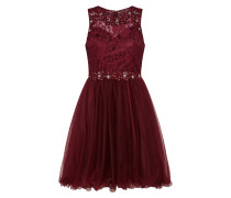 Cocktailkleid bordeaux