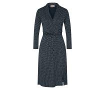 Kleid creme / dunkelblau