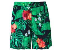Shorts nachtblau / grün / rot