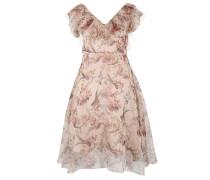 Kleid mischfarben / puder