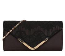 Tasche 'Envelope Clutch' schwarz