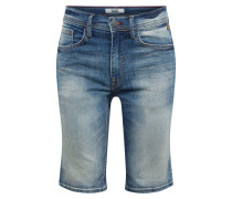 Jeans 'Denim Shorts Twister Slim' blue denim