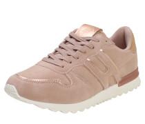 Sneaker im Retro-Look puder