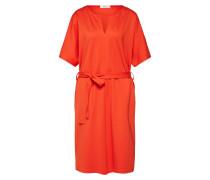 Blusenkleid 'lg007820' orangerot