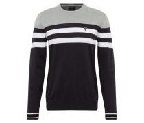 Pullover 'brazos' weiß / grau / schwarz