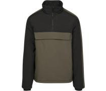 Jacket oliv / schwarz