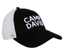 Cap schwarz / weiß