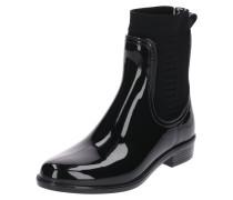 Stiefelette 'rain Boot' schwarz