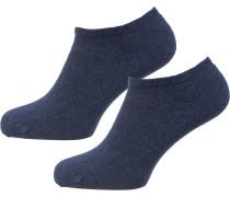 Sneakersocken blau
