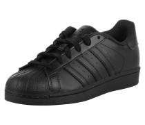 Sneaker 'Superstar' schwarz
