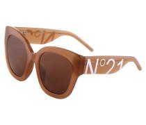 Sonnenbrille 'n21S47C2Sun' hellbraun / orange