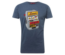 Shirt 'Lucky' dunkelblau